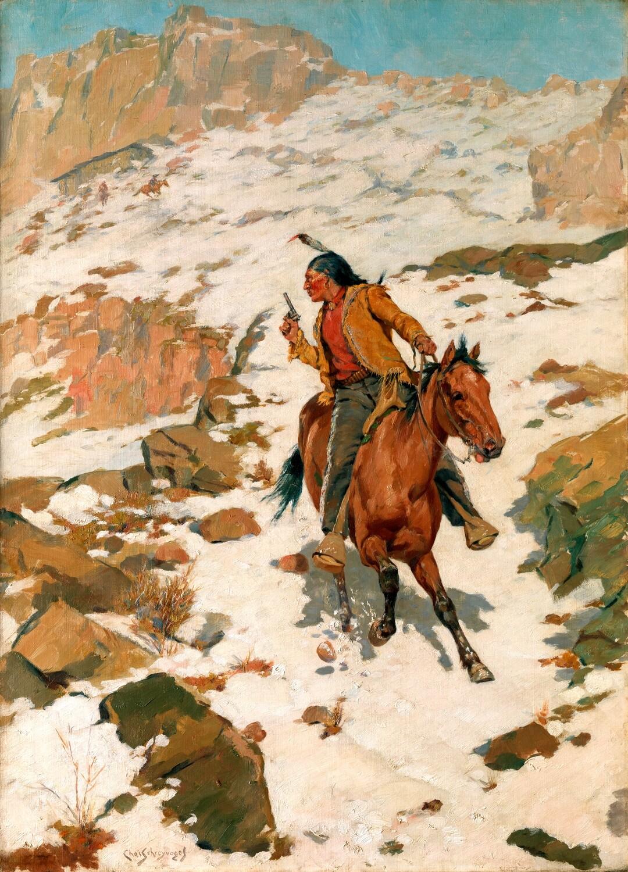 Charles Schreyvogel | In Hot Pursuit ca.1900