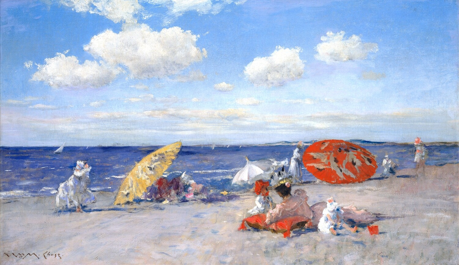 William Chase   At the Seaside 1892