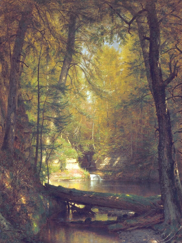 Worthington Whittredge | The Trout Pool 1870
