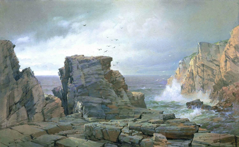 William Richards   A Rocky Coast 1877