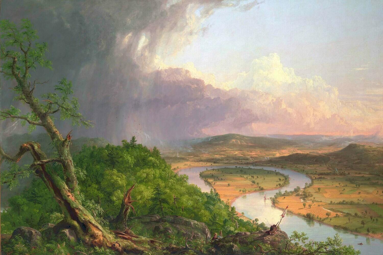 Thomas Cole | The Oxbow 1836