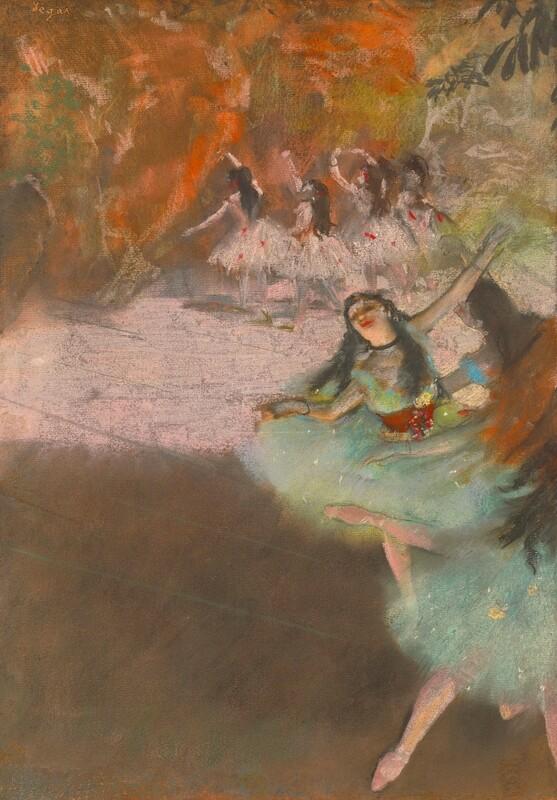 Edgar Degas | On the Stage