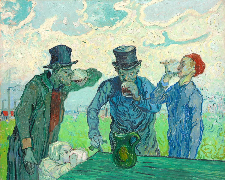 Vincent van Gogh | The Drinkers