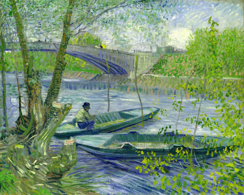 Vincent van Gogh | Fishing in Spring