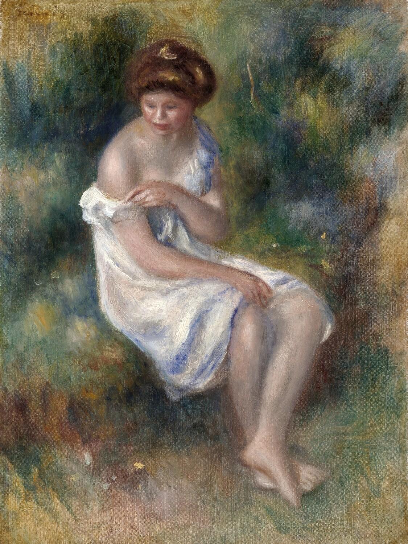 Auguste Renoir   The Bather