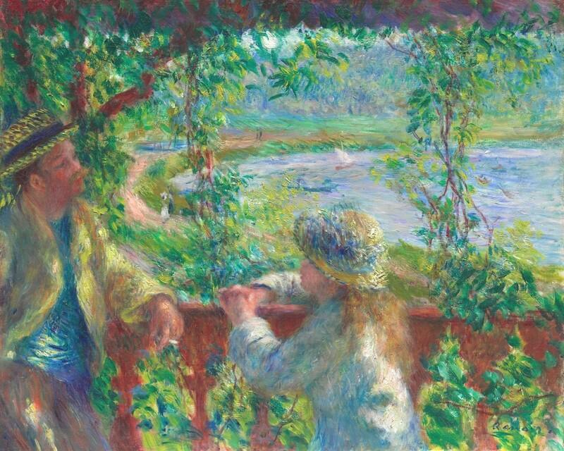 Auguste Renoir   Near the Lake