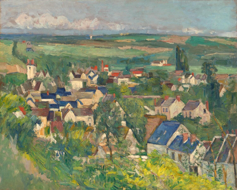 Paul Cézanne   Auvers, panaramic view