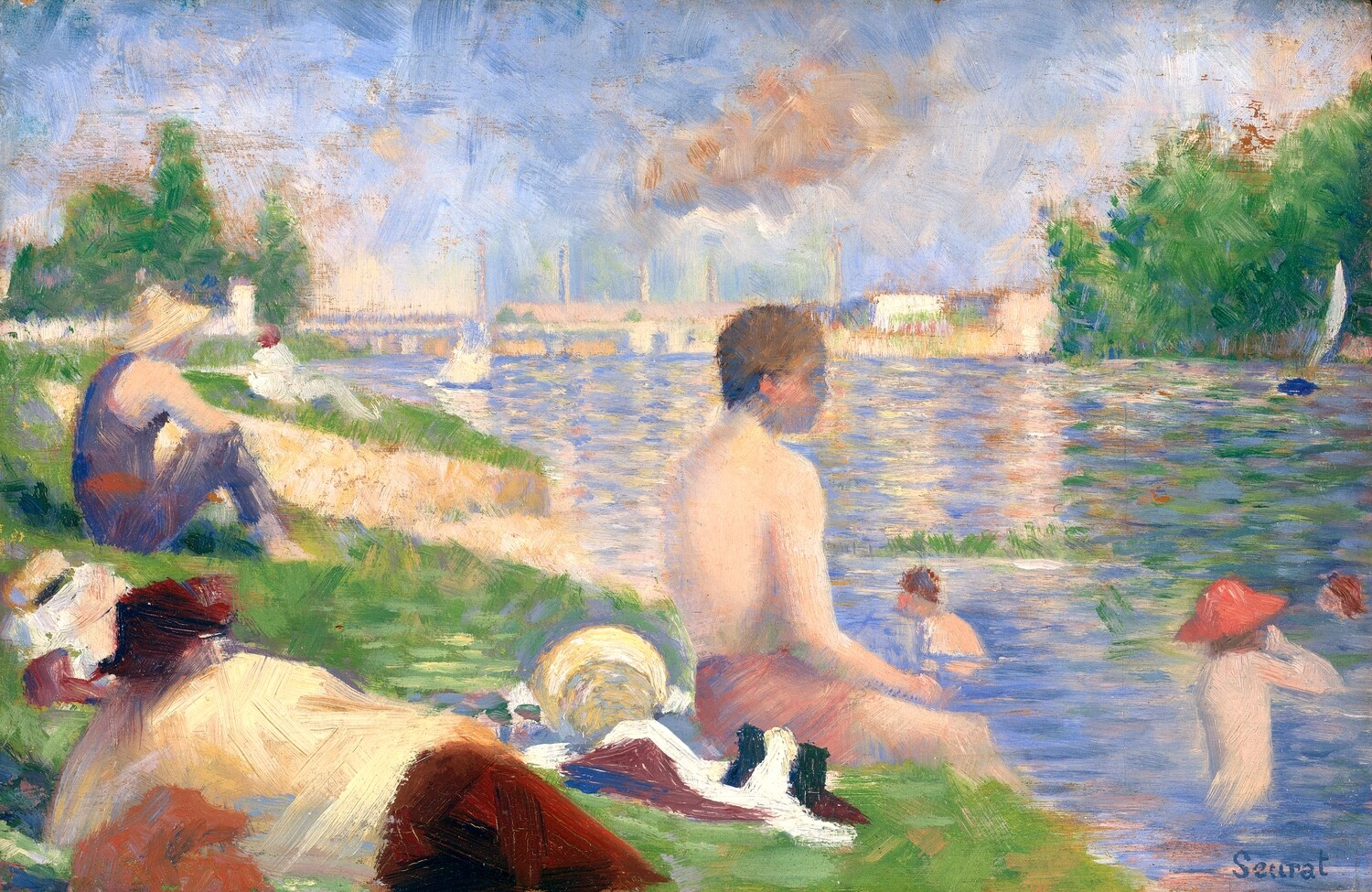 Georges Seurat   Bathers at Asniers