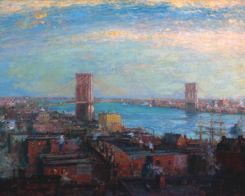 Henry Ranger   Brooklyn Bridge 1899