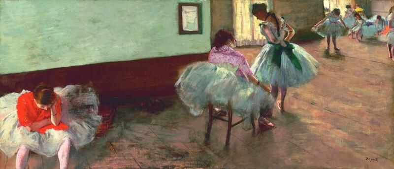 Edgar Degas | The Dance Lesson 1879