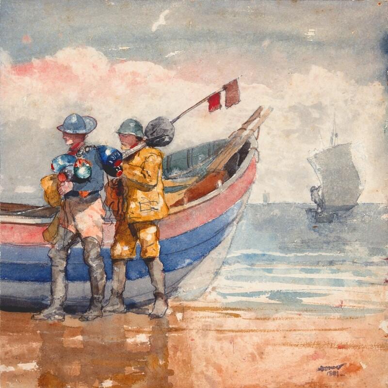 Winslow Homer | The Return 1881