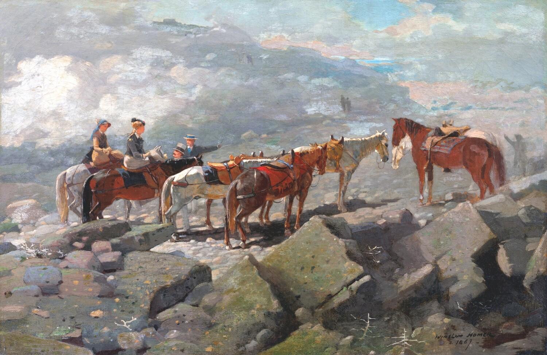 Winslow Homer   Mount Washington 1869