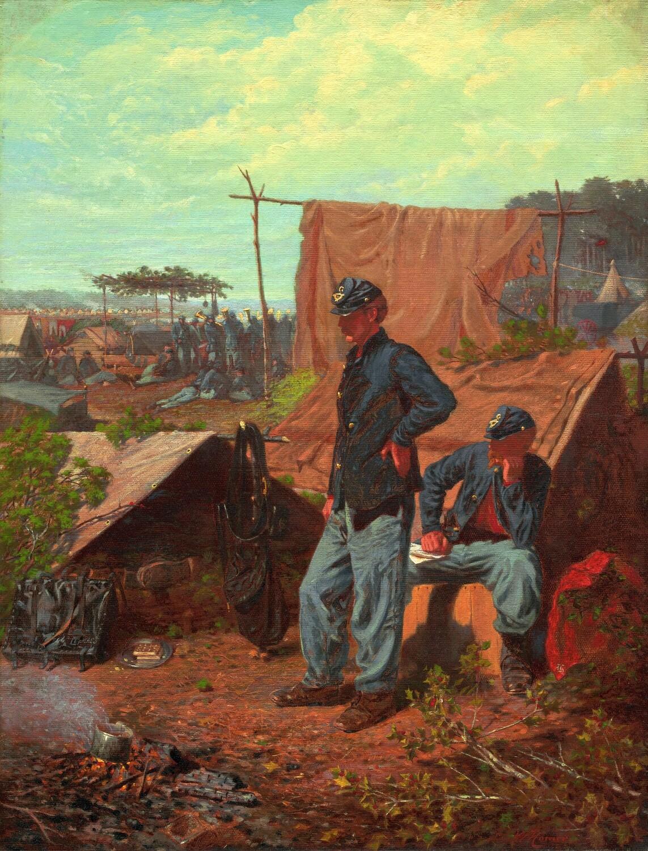 Winslow Homer | Home Sweet Home 1863