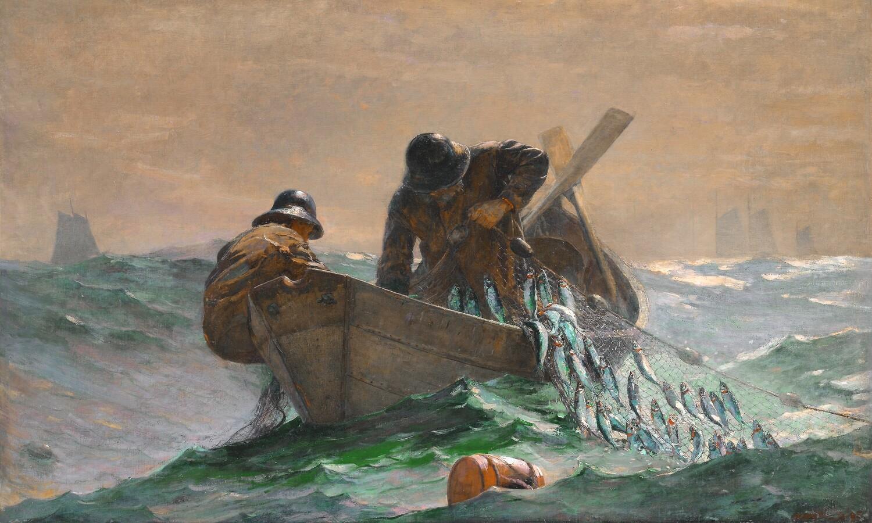 Winslow Homer   The Herring Net 1885