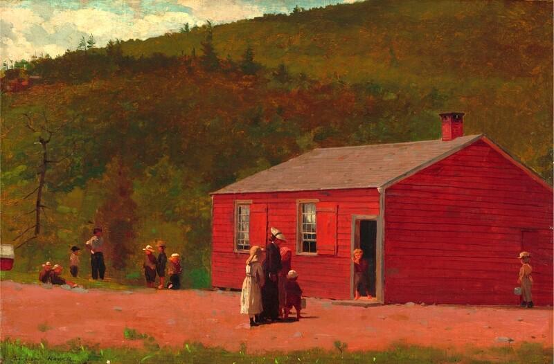 Winslow Homer | School Time 1874