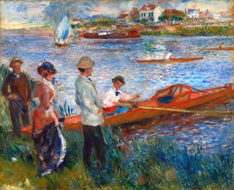 Auguste Renoir   Oarsmen at Chatou 1879