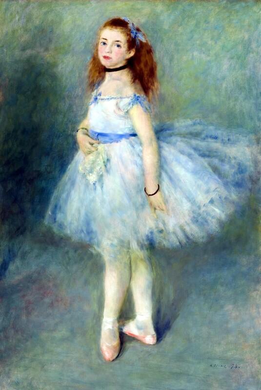 Auguste Renoir   The Dancer 1875