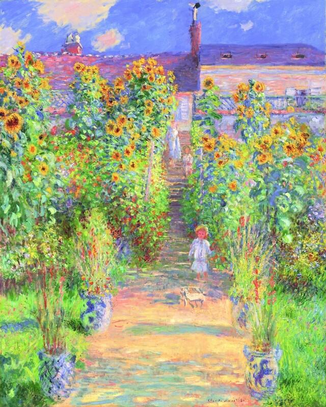 Claude Monet | The Artist's Garden at Vetheuil 1881