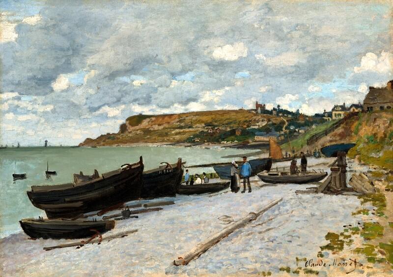 Claude Monet | Sainte-Adresse 1867