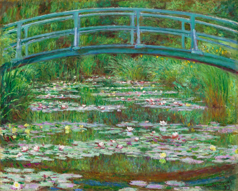 Claude Monet | The Japanese Footbridge 1899