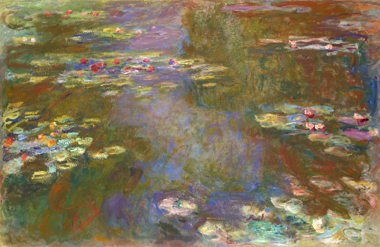Claude Monet | Water Liliy Pond 1917