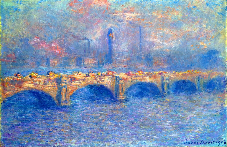 Claude Monet | Waterloo Bridge, Sunlight Effect 1903