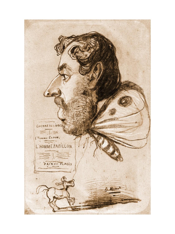 Claude Monet | Jules Didier Butterfly Man 1858