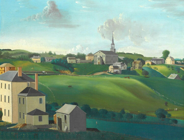 John Penniman | Meetinghouse Hill, Roxbury, Massachusetts 1799