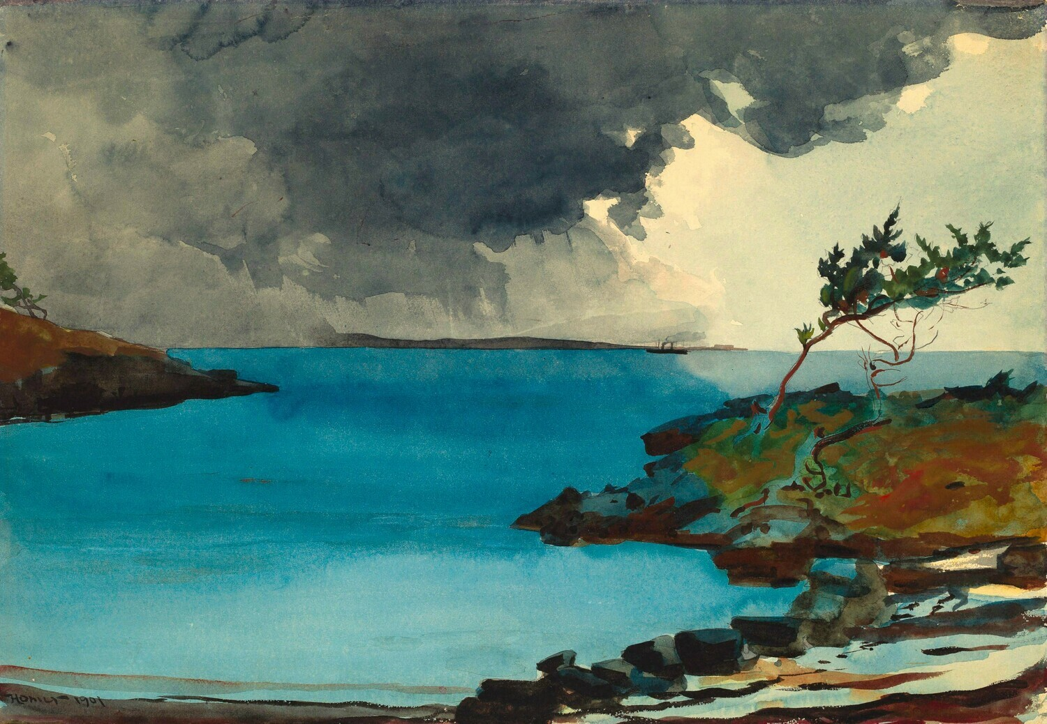 Winslow Homer   The Coming Storm 1901