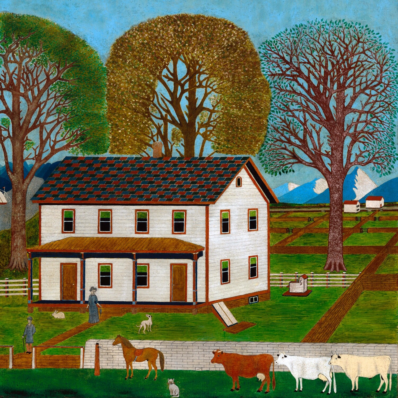 American 19th Century | Farmhouse in Mahantango Valley