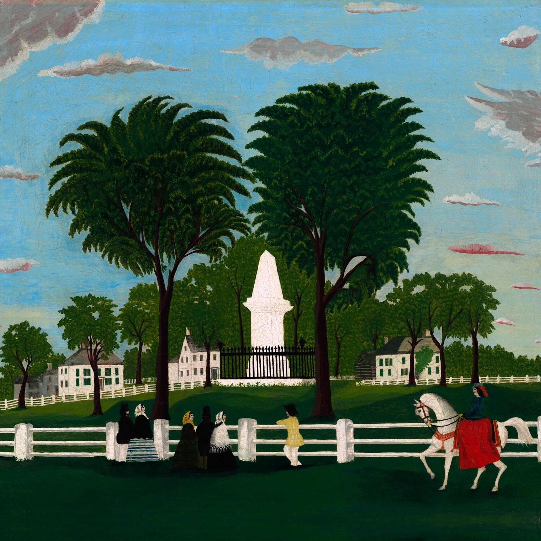 American 19th Century   Lexington Battle Monument
