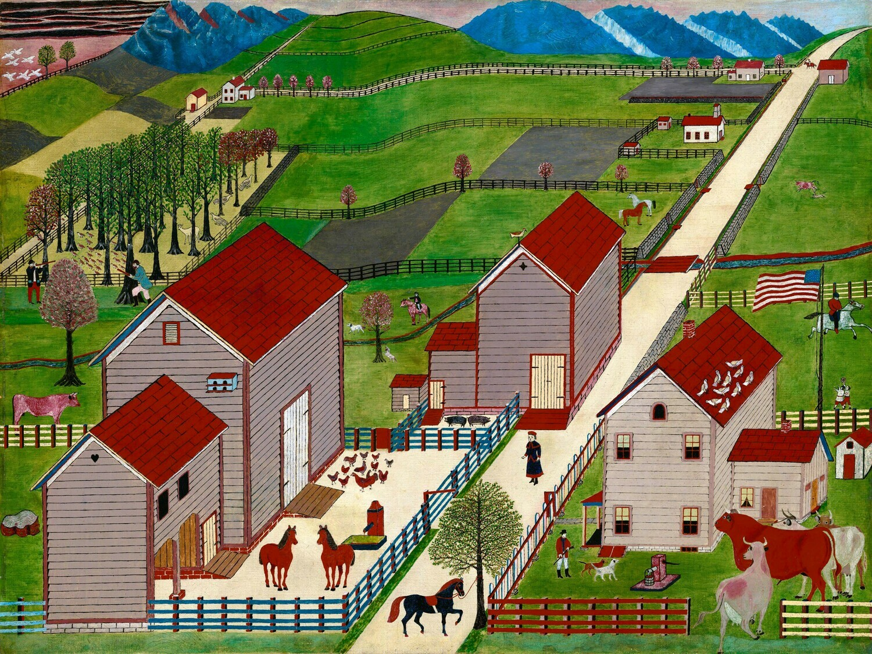 American 19th Century | Mahantango Valley Farm