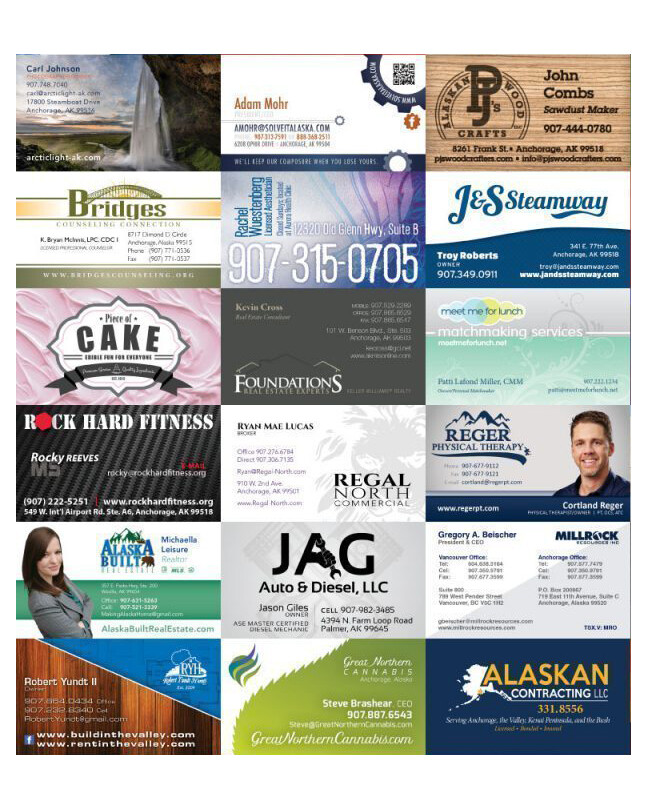 BUSINESS CARDS | FREE SIMPLE DESIGN & LAYOUT