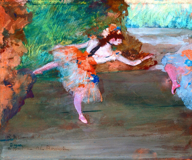 Edgar Degas | Dancer On Stage