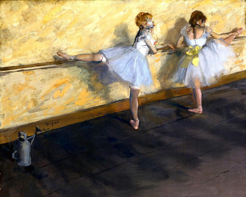 Edgar Degas   Dancers Practicing at the Barre