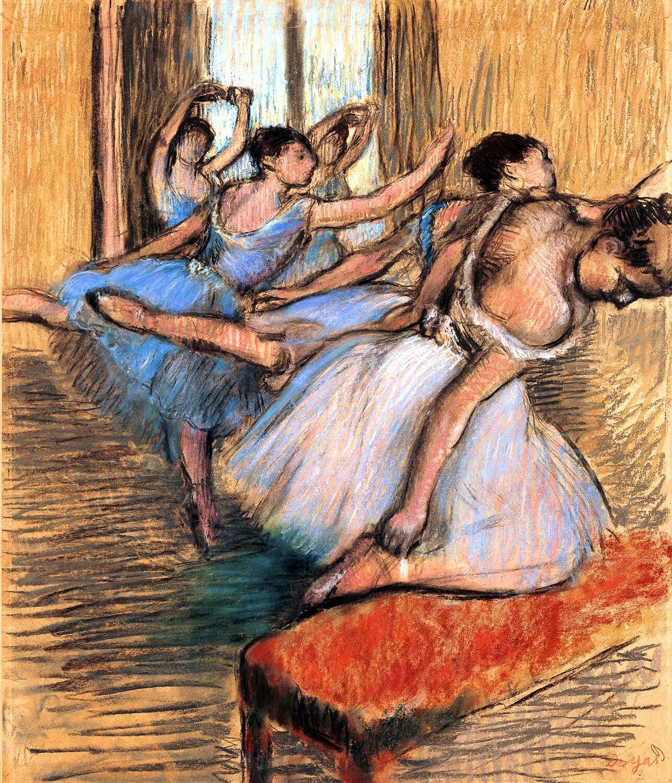 Edgar Degas   The Dancers