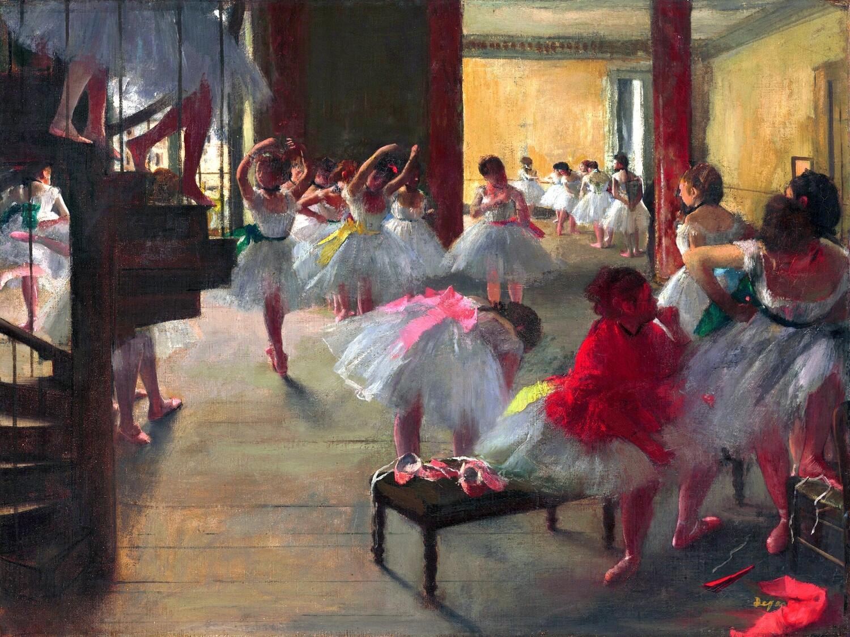 Edgar Degas   The Dance Class 1873