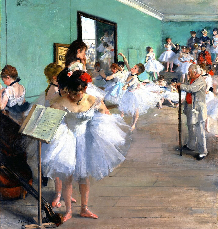 Edgar Degas | The Dance Class