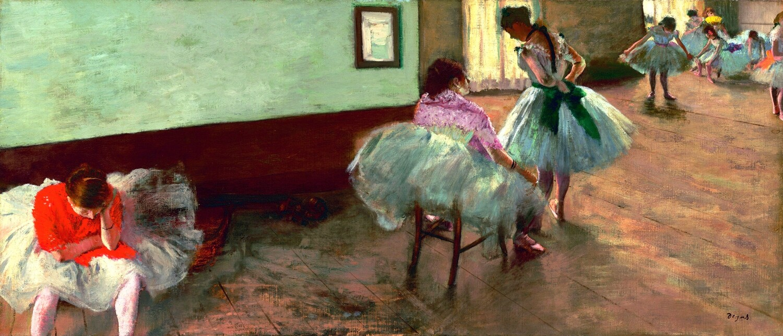 Edgar Degas   The Dance Lesson 1879