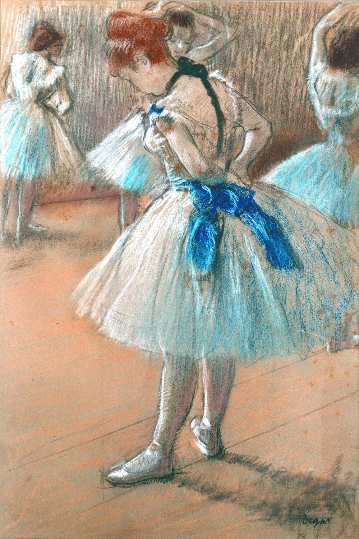 Edgar Degas   Dancer