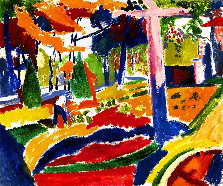 Henry Lyman Sayen   Garden 1915