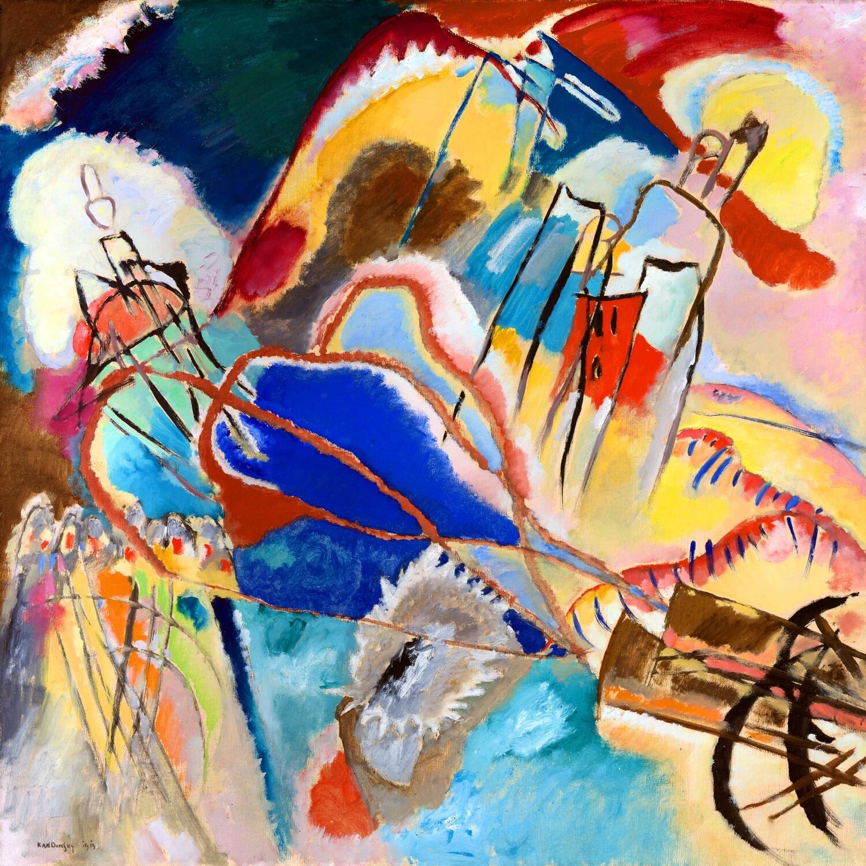 Wassily Kandinsky | Improvisation No. 30 1913