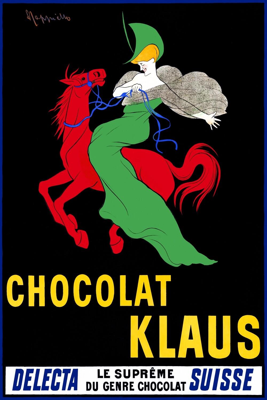 Leonetto Cappiello | Chocolat Klaus 1903