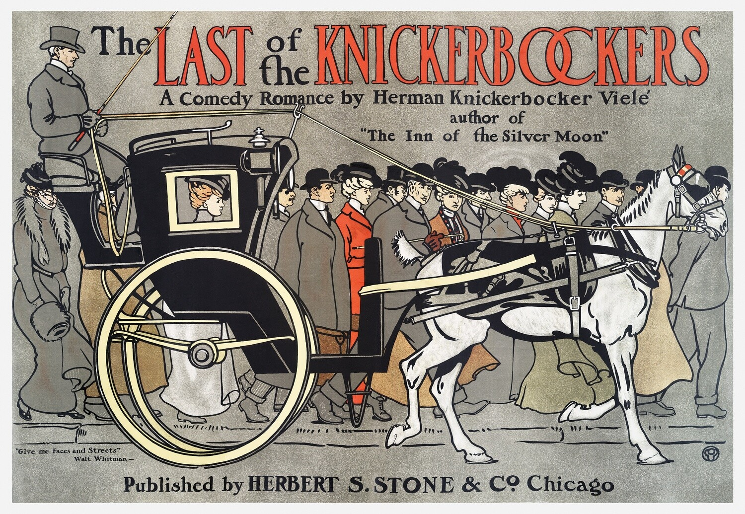 Edward Penfield | The Last of the Knickerbockers 1901