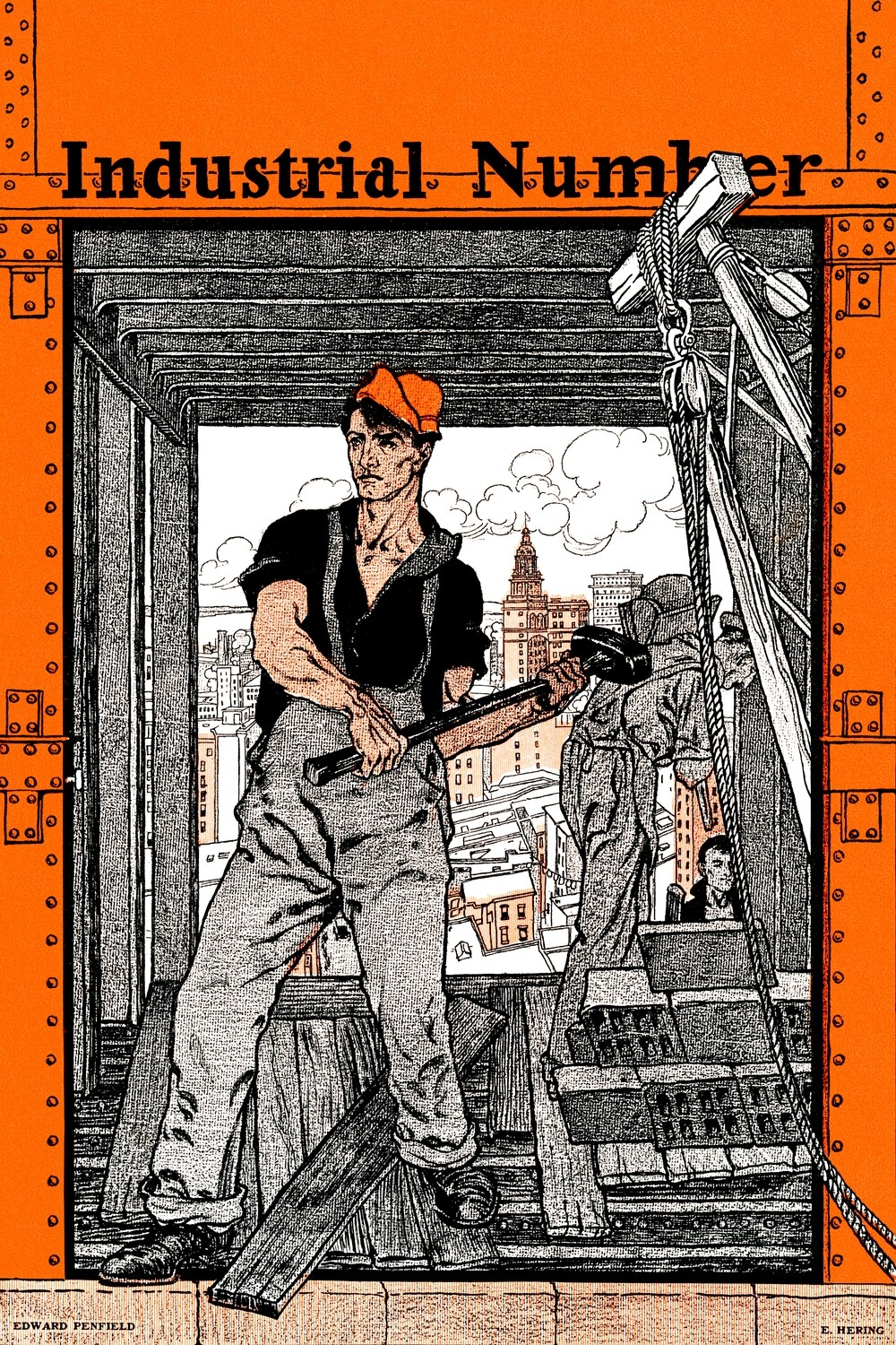 Edward Penfield | Industrial Number 1901