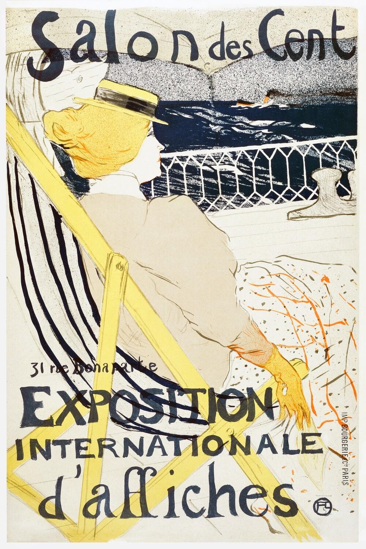 Henri de Toulouse–Lautrec   Salon des Cent 1896