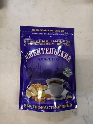 Кофейный напиток Любительский 100г/32
