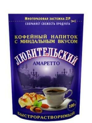 Кофейный напиток ZIP Любительский 100г/24