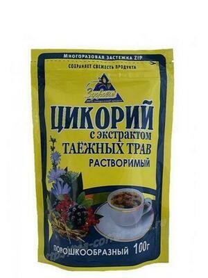 Цикорий Здоровье Таежный 100г/12 м/у zip