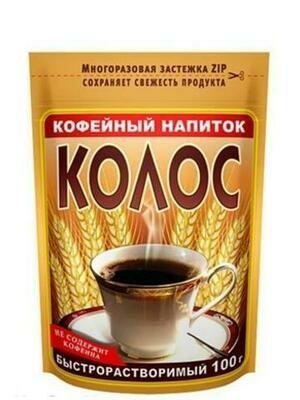Кофейный напиток ZIP Колос 100г/24